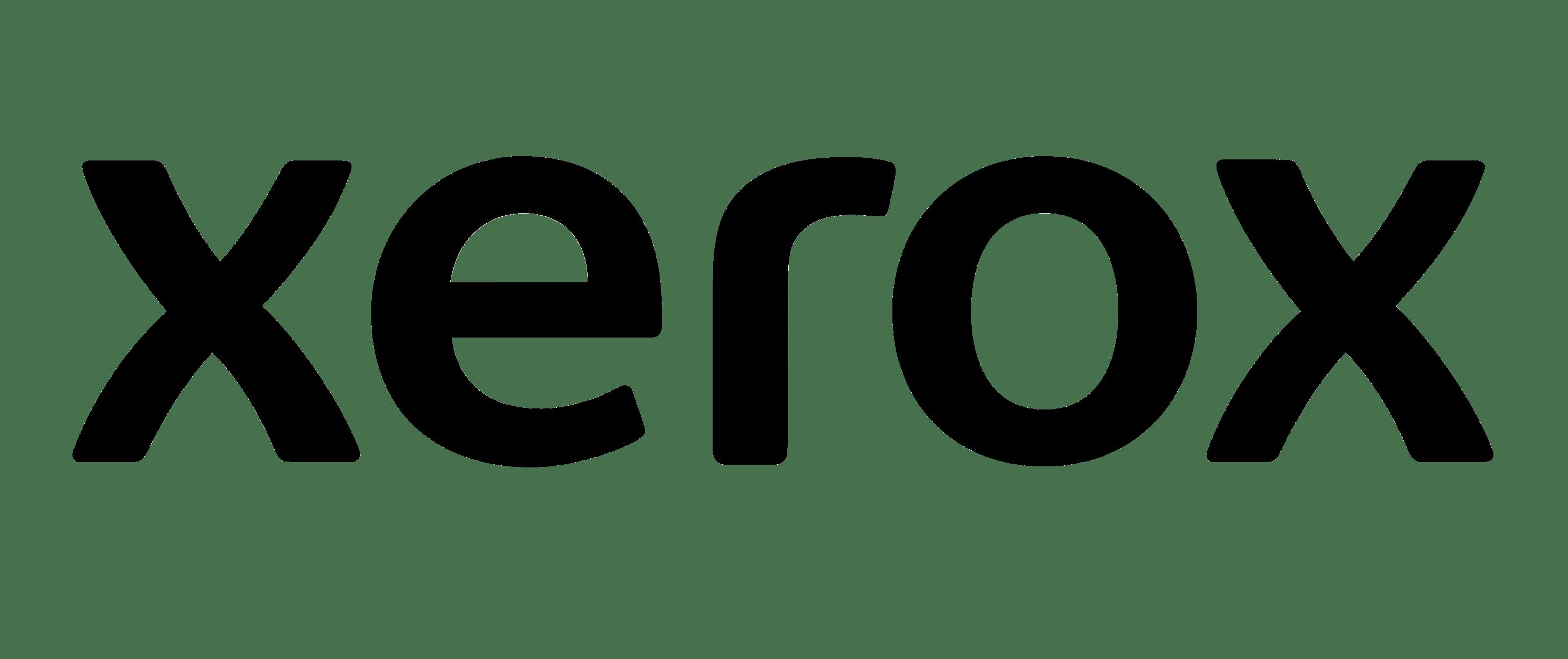 Font-Xerox-logo